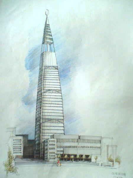 广东建筑手绘图